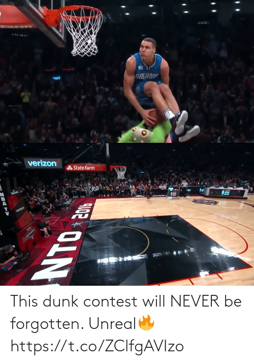 Never Be: This dunk contest will NEVER be forgotten. Unreal🔥 https://t.co/ZClfgAVIzo