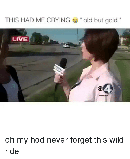 """Hod: THIS HAD ME CRYING  """" old but gold'.  LIVE  04 oh my hod never forget this wild ride"""