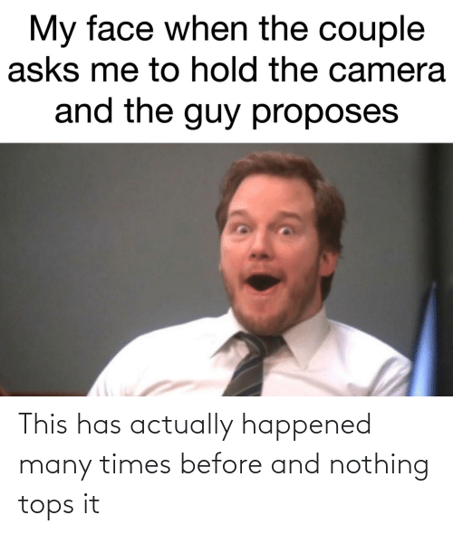happened: This has actually happened many times before and nothing tops it