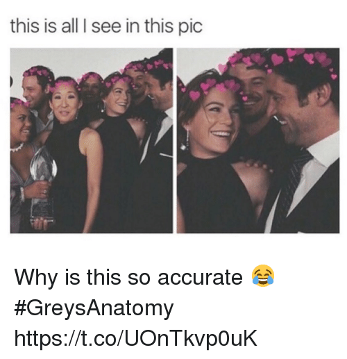 Memes, 🤖, and Why: this is all I see in this pic Why is this so accurate 😂 #GreysAnatomy https://t.co/UOnTkvp0uK