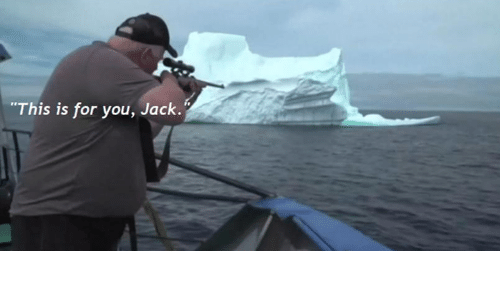 """Jack, You, and For: """"This is for you, Jack."""