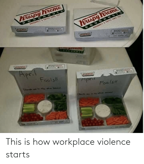 Violence: This is how workplace violence starts