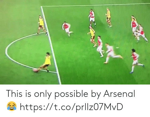 Arsenal: This is only possible by Arsenal 😂 https://t.co/prlIz07MvD