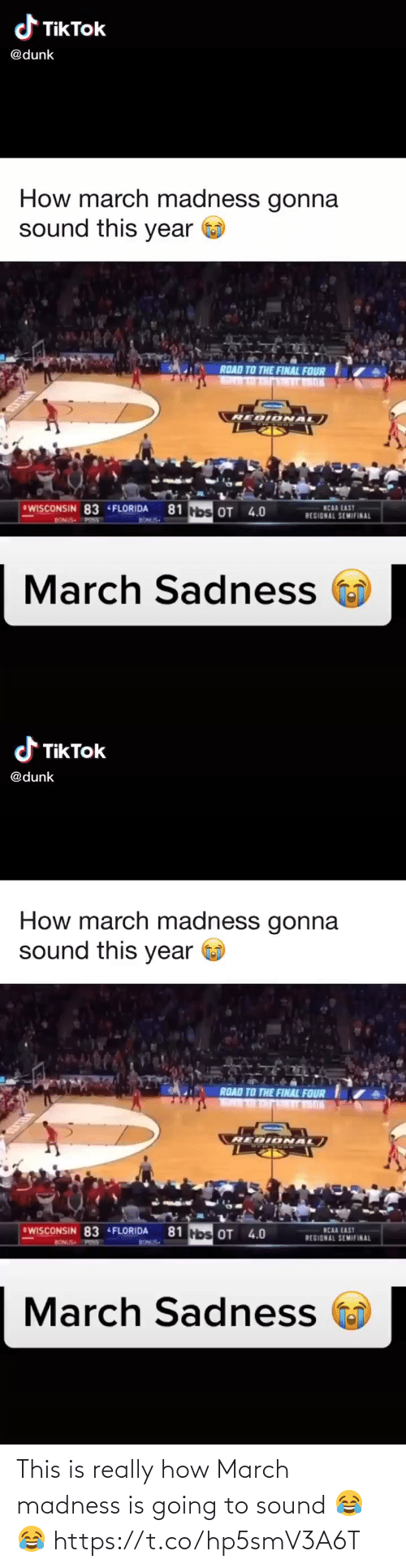 march: This is really how March madness is going to sound 😂😂 https://t.co/hp5smV3A6T