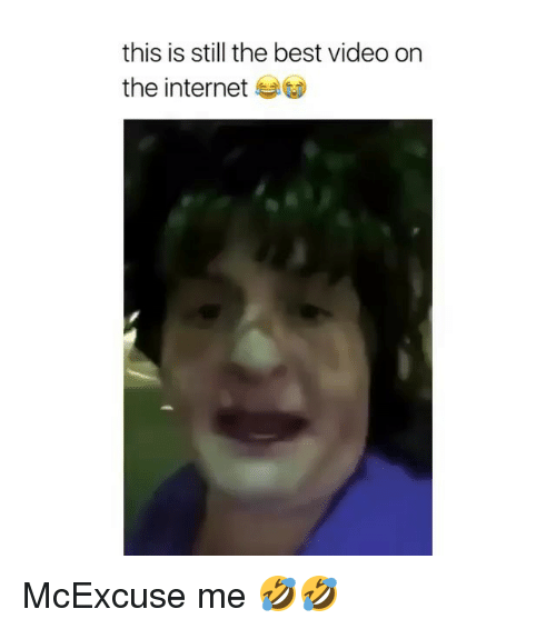 Internet, Memes, and Best: this is still the best video orn  the internet McExcuse me 🤣🤣