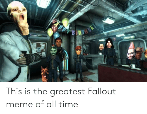 Fallout: This is the greatest Fallout meme of all time