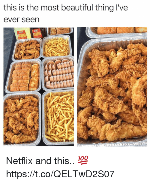 Beautiful, Netflix, and Thing: this is the most beautiful thing l've  ever seen Netflix and this.. 💯 https://t.co/QELTwD2S07