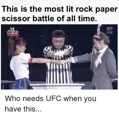 Dank, 🤖, and Rock: This is the most lit rock paper  scissor battle of all time  LIVE Who needs UFC when you have this...