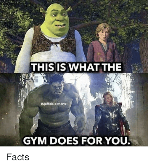 Facts, Gym, and You: THIS IS WHAT THE  Glofficialdcmarvel  GYM DOES FOR YOU Facts
