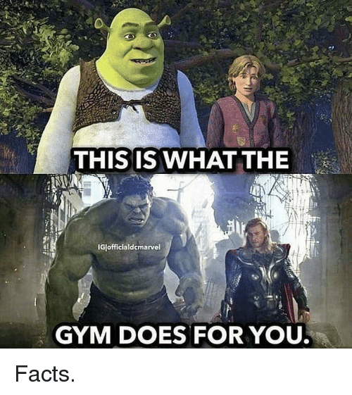 Facts, Gym, and You: THIS IS WHAT THE  IGlofficialdcmarvel  GYM DOES FOR YOU Facts.