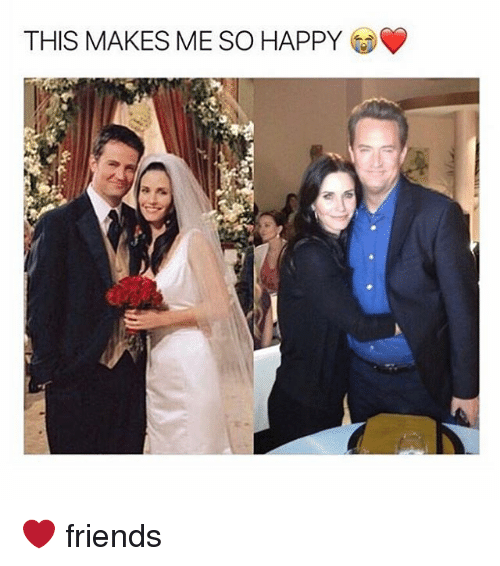 Memes, 🤖, and Friend: THIS MAKES ME SO HAPPY ❤️ friends