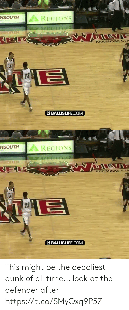 defender: This might be the deadliest dunk of all time... look at the defender after https://t.co/SMyOxq9P5Z