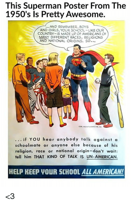 this superman poster from the 1950s is pretty awesome and 8171944 🦅 25 best memes about 1950s 1950s memes