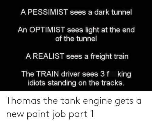 Paint: Thomas the tank engine gets a new paint job part 1