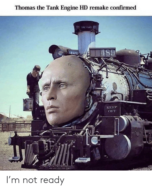 thomas the tank engine: Thomas the Tank Engine HD remake confirmed  AS9  КЕЕР  EE  OFF I'm not ready