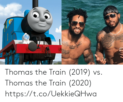 Football, Nfl, and Sports: Thomas the Train (2019) vs. Thomas the Train (2020) https://t.co/UekkieQHwa