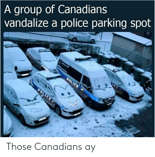 those: Those Canadians ay