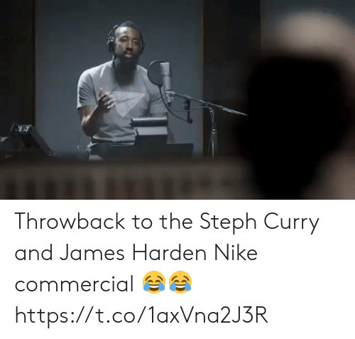 Steph: Throwback to the Steph Curry and James Harden Nike commercial 😂😂 https://t.co/1axVna2J3R