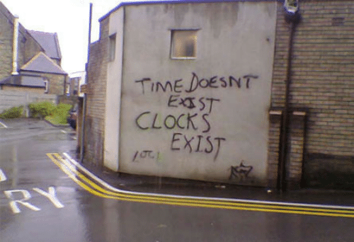 Time, Exist, and Timing: TIME DOESNT  J. EXIST