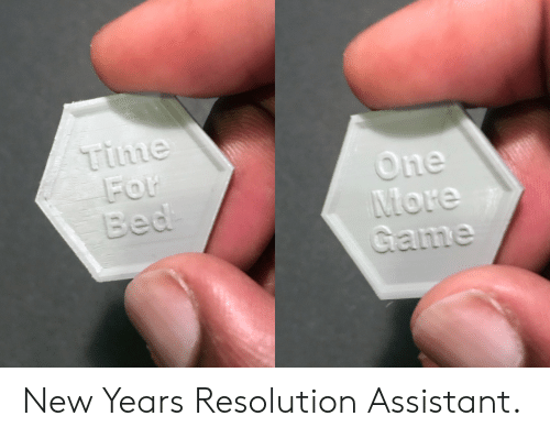Time, Resolution, and New: time  he New Years Resolution Assistant.