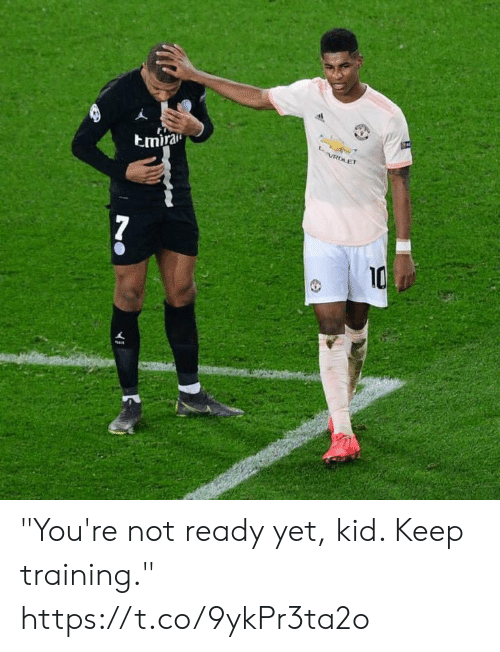 """Memes, 🤖, and Kid: tmira  10 """"You're not ready yet, kid. Keep training."""" https://t.co/9ykPr3ta2o"""