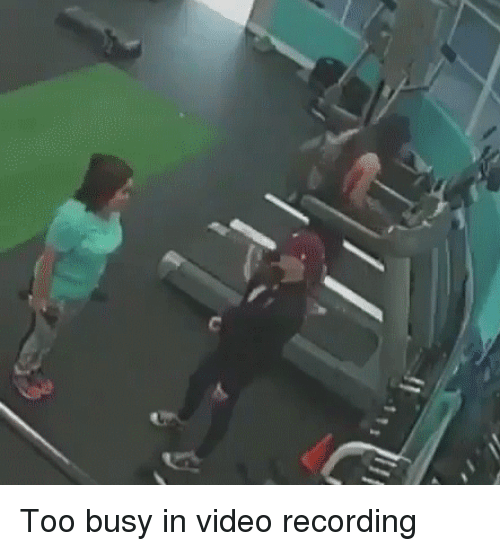 Funny, Selfie, and Video: Too busy in video recording