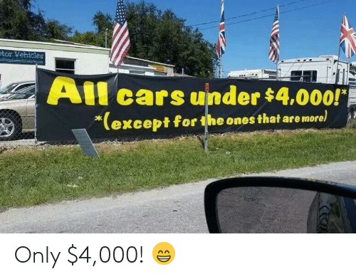 Cars, Tor, and All: tor Vehicies  All cars uinder $4.000!  except for the ones that are more Only $4,000! 😁