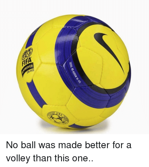 Memes, 🤖, and Volley: TOTAL 90 AEROw HI-vis No ball was made better for a volley than this one..
