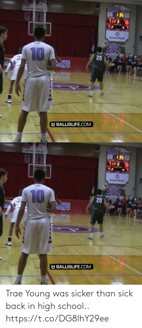 Back In: Trae Young was sicker than sick back in high school.. https://t.co/DG8lhY29ee