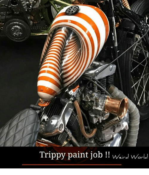 Trippiness: Trippy paint job  Weins Or