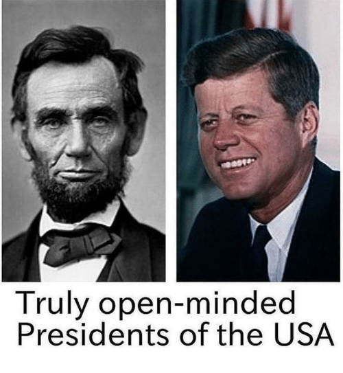 Presidents, Usa, and Open: Truly open-minded  Presidents of the USA