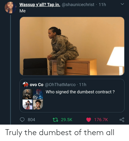 dumbest: Truly the dumbest of them all