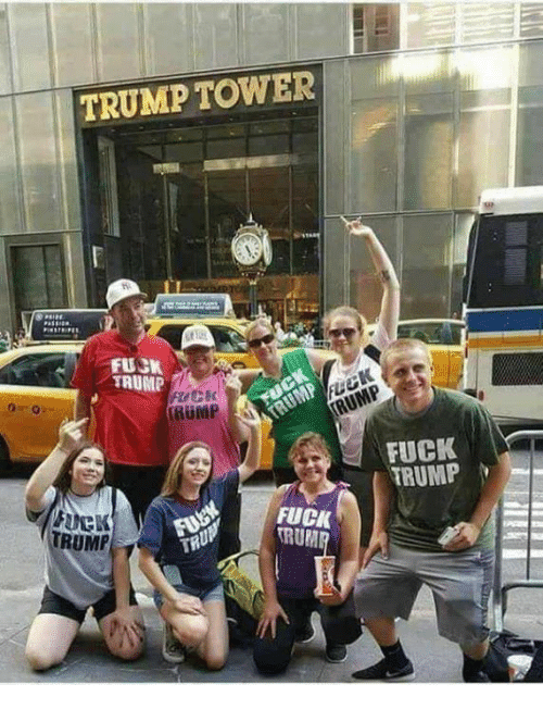 Fuck, Trump, and Rum: TRUMP TOWER  n.  FUCK  TAUMP  RUMP  RUMP  FUCK  TRUMPM  FUCK  RUM  TRUMP  TRU