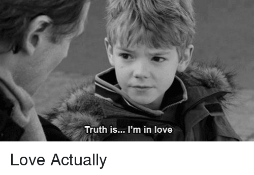 Memes, Love Actually, and 🤖: Truth is... I'm in love Love Actually