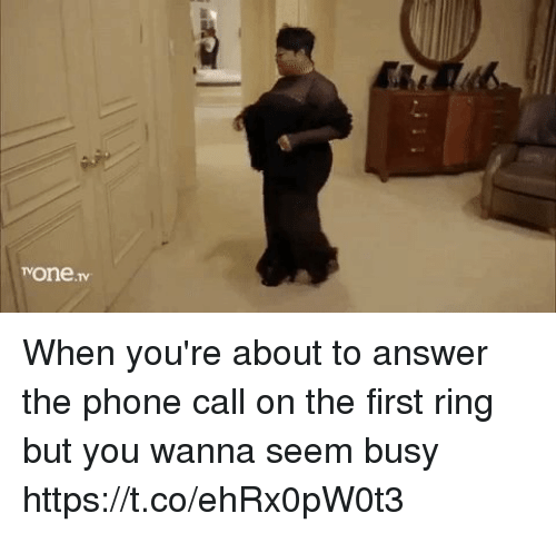 how to answer a phone call