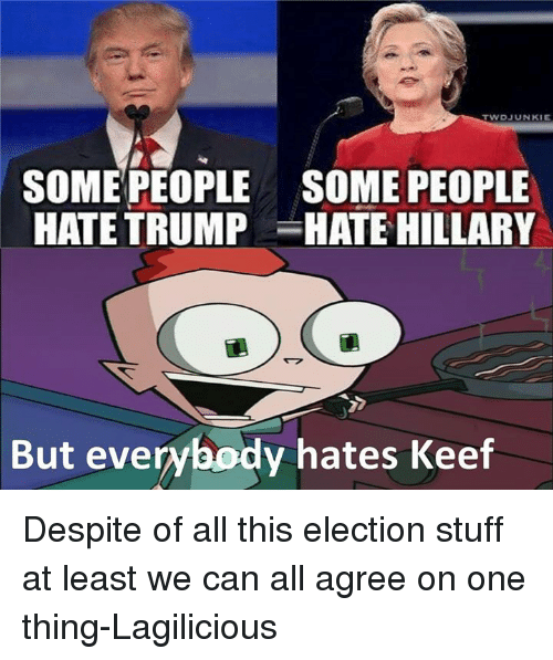 why does everyone hate trump