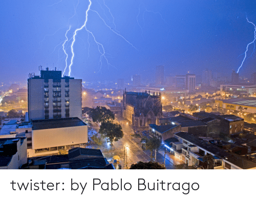 Target, Tumblr, and Angel: twister:  by  Pablo Buitrago