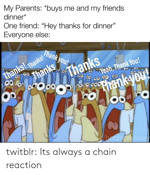 tumblr: twitblr:  Its always a chain reaction
