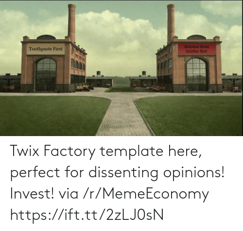 opinions: Twix Factory template here, perfect for dissenting opinions! Invest! via /r/MemeEconomy https://ift.tt/2zLJ0sN