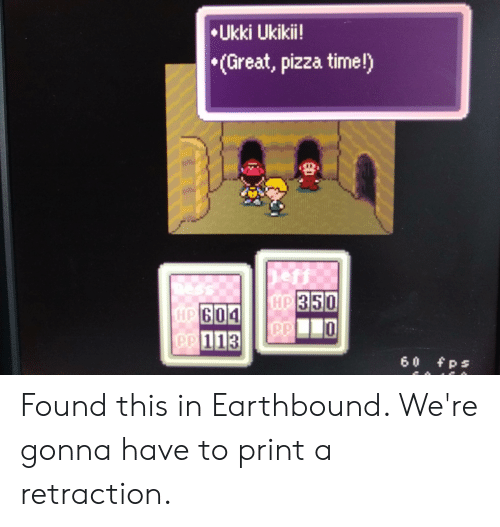 Paul a iNness ROCKHARD | Earthbound Meme on Conservative Memes