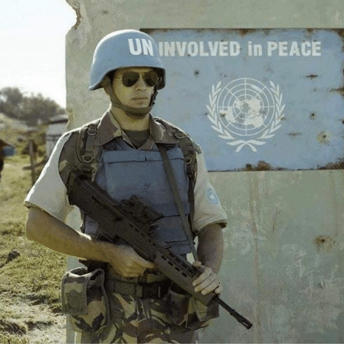 Dank, Peace, and 🤖: UN INVOLVED in PEACE