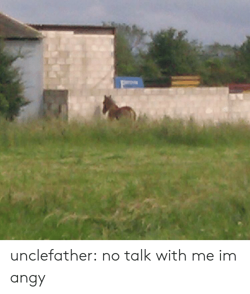 Tumblr, Blog, and Com: unclefather:  no talk with me im angy