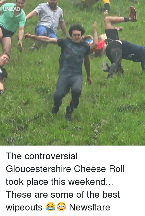Dank, Best, and Controversial: UNI The controversial Gloucestershire Cheese Roll took place this weekend... These are some of the best wipeouts 😂😳  Newsflare
