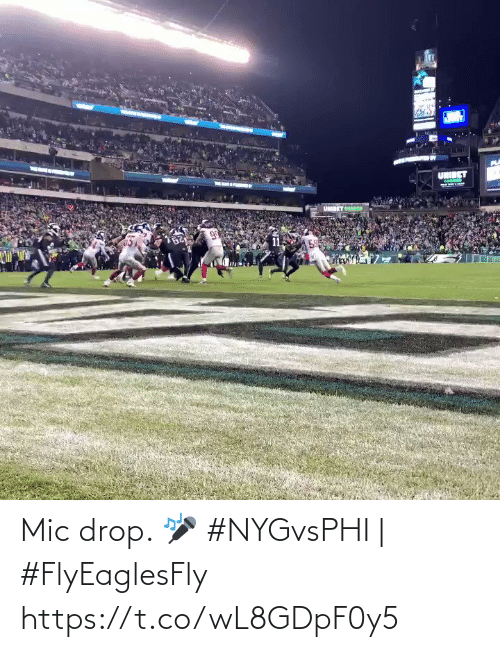Memes, 🤖, and Mic: UNIBET  11 Mic drop. 🎤  #NYGvsPHI | #FlyEaglesFly https://t.co/wL8GDpF0y5