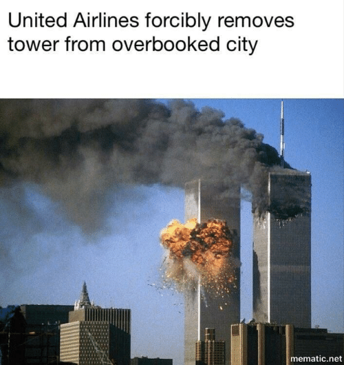 United, United Airlines, and Net: United Airlines forcibly removes  tower from overbooked city  mematic.net