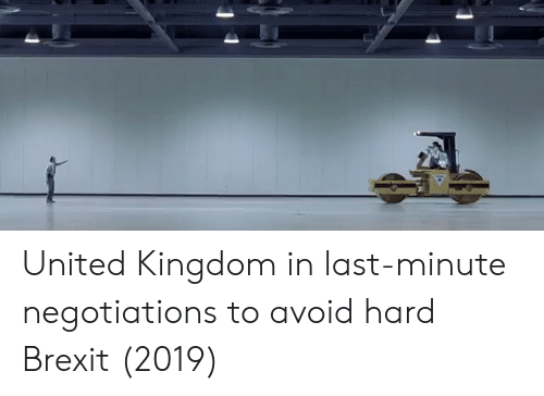 United, United Kingdom, and Brexit: United Kingdom in last-minute negotiations to avoid hard Brexit (2019)