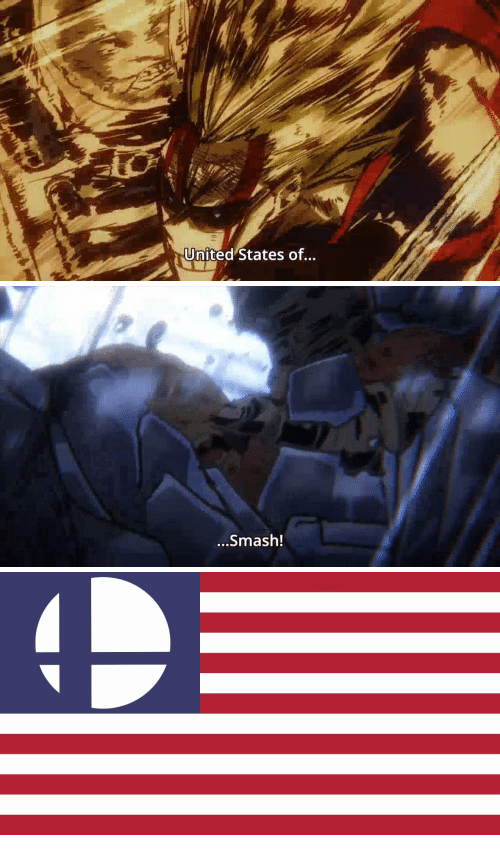 Smashing, United, and United States: United States of...   ...Smash!