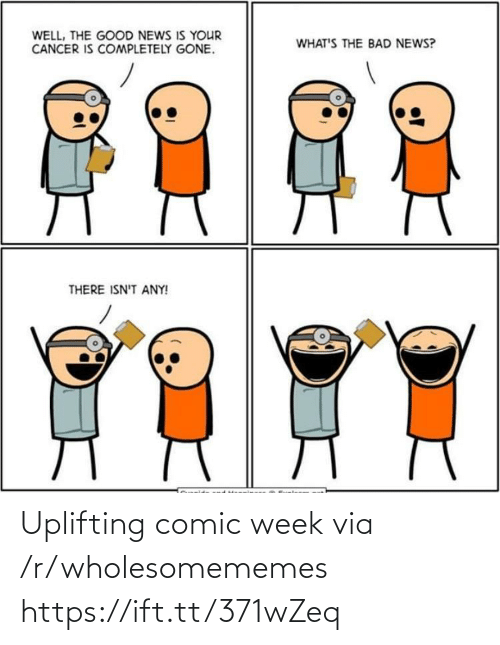 R Wholesomememes: Uplifting comic week via /r/wholesomememes https://ift.tt/371wZeq