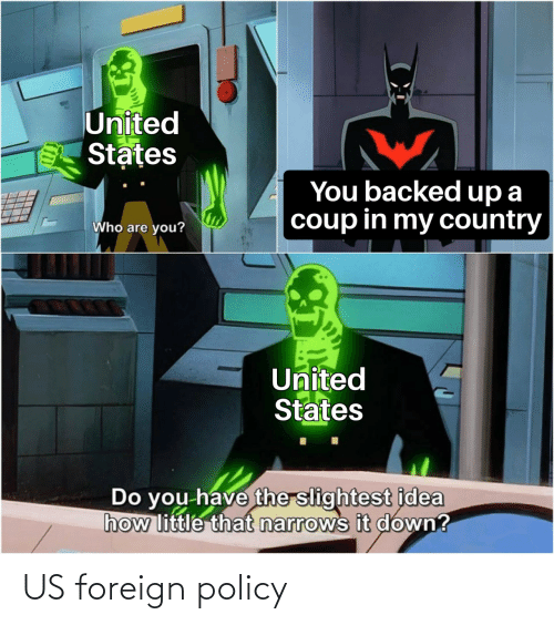 Foreign: US foreign policy