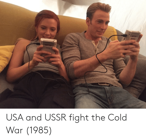 Cold, Ussr, and Cold War: USA and USSR fight the Cold War (1985)
